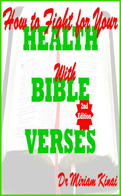 How to Fight for your Health with Bible Verses 2nd Edition teaches you the awesome Bible verses you can pray as spiritual warfare prayers, say as Christian affirmations and reflect on as Christian meditations to help you fight diseases and illnesses.