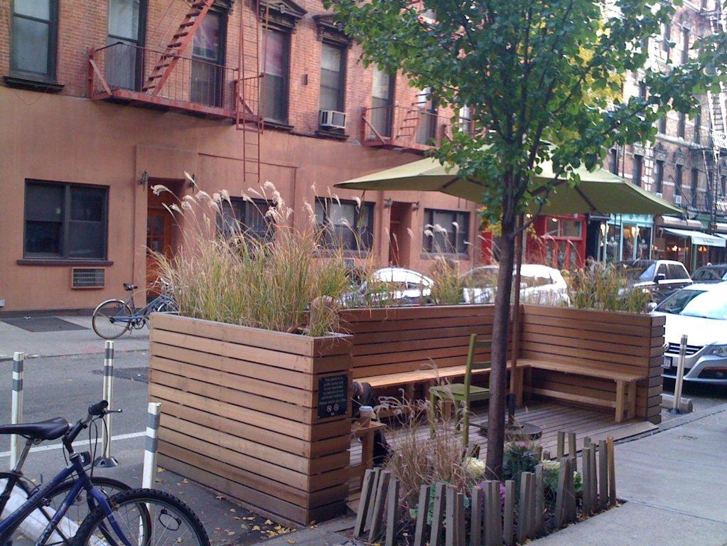 fotos de jardins urbanos : fotos de jardins urbanos:Mini Parques y Jardines Urbanos -Parklet