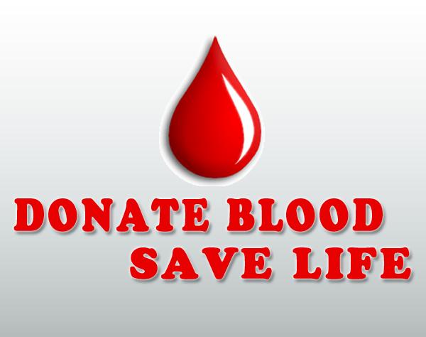 Donate Blood Save Life Logo