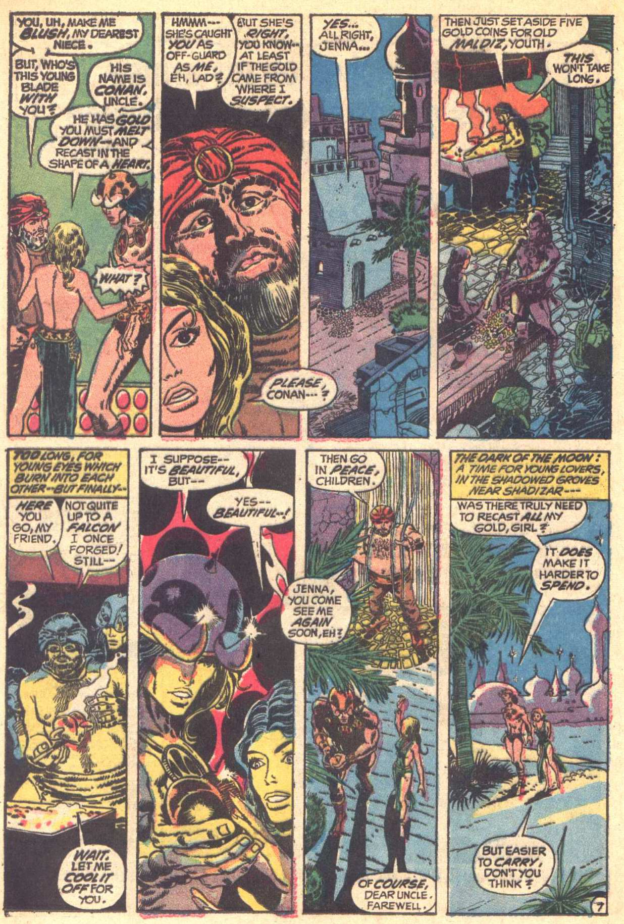 Conan the Barbarian (1970) Issue #6 #18 - English 8