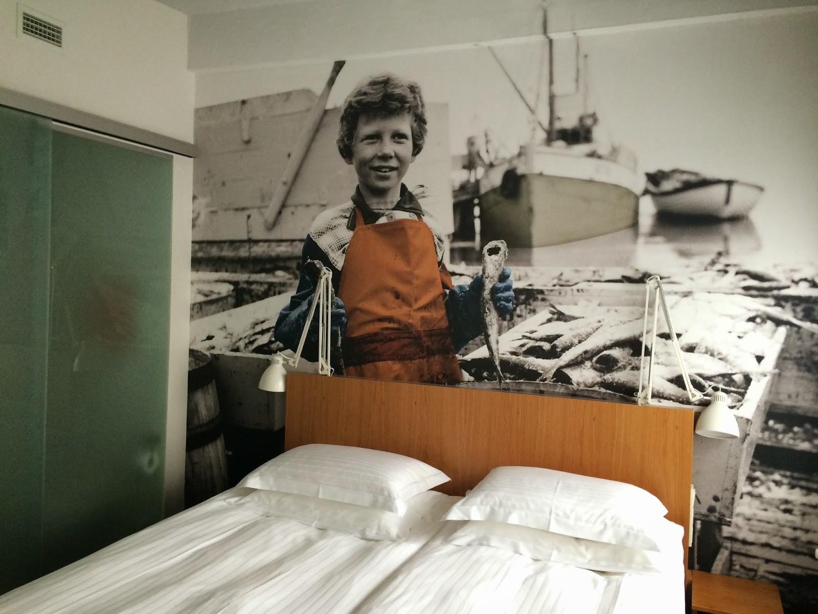 Reykjavic Marina hotel bedroom