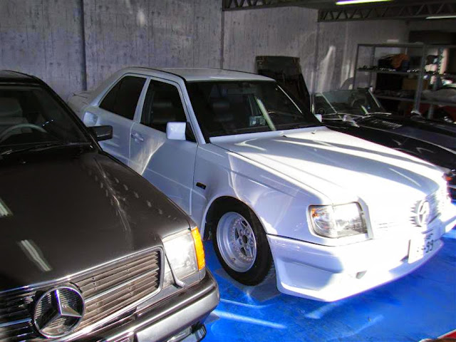 mercedes 300e w124 abc exclusive widebody japan