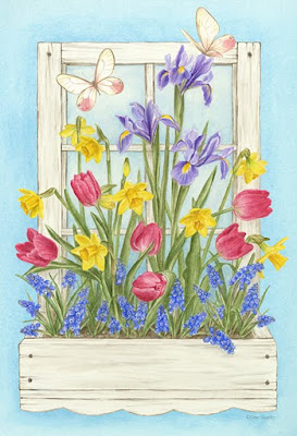 flores romanticas para imprimir