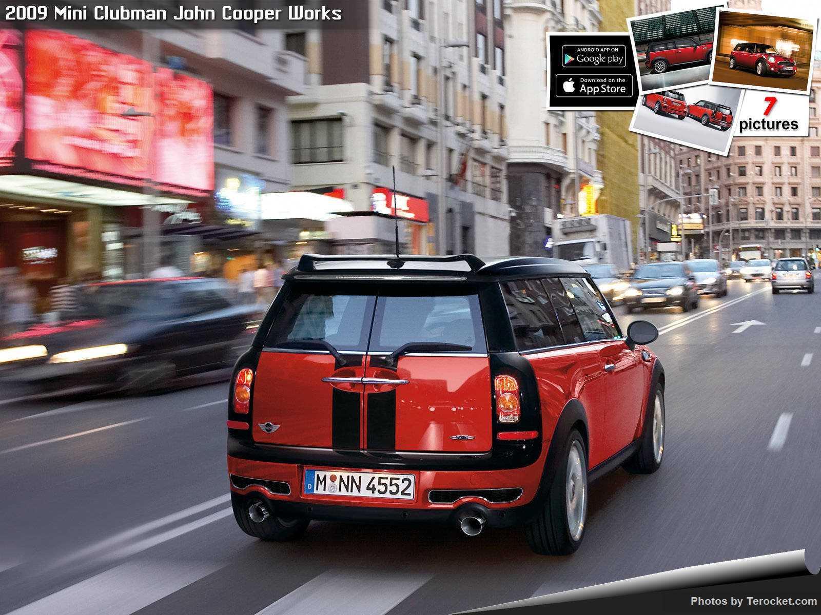 Hình ảnh xe ô tô Mini Clubman John Cooper Works 2009 & nội ngoại thất
