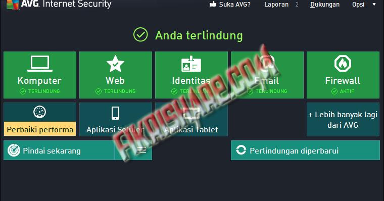 AVG Anti-Virus Free + Internet Security 2014 Full Key ~ Aan Kunaifi
