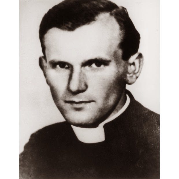 His-Holiness-John-Paul II-young