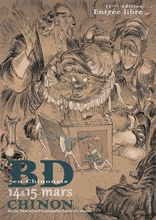 Festival BD en Chinonais - 14 et 15 mars 2015 (+ d'infos)
