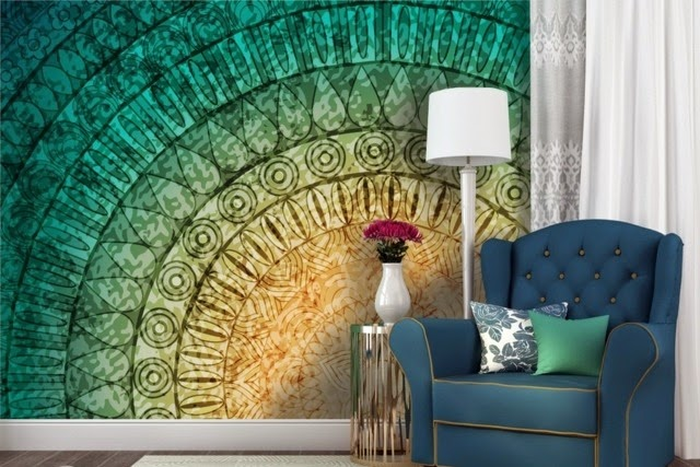 Wall Decoration Ideas With Photo Wallpaper Abstract 3d