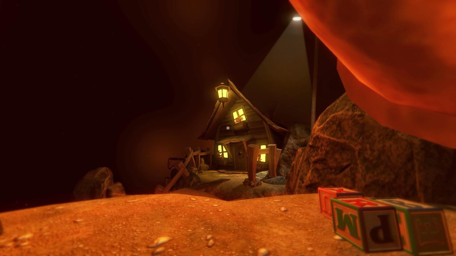 Among the sleep screenshot toy house