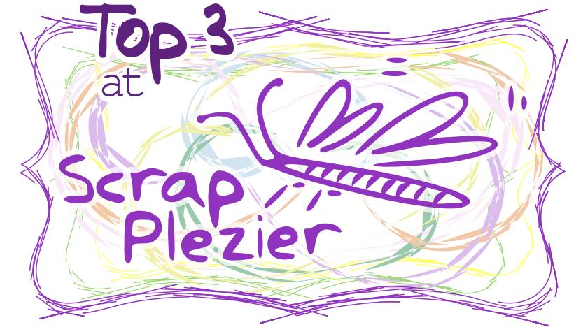 22-7-2018 in top 3 bij Scraplezier/KIC