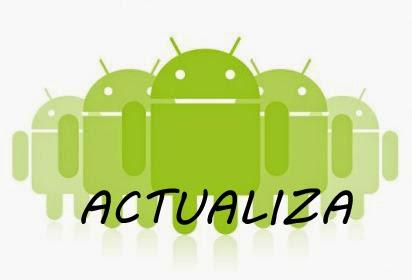 Instalar actualizaciones android