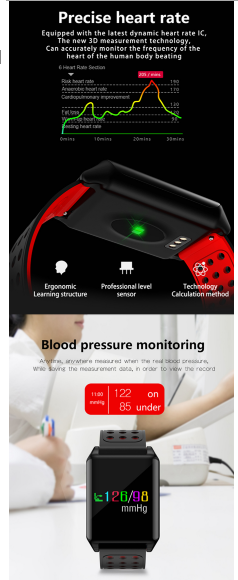 NEW TECHNOLOGY WATCHES WITH BP & HEART MONITORING