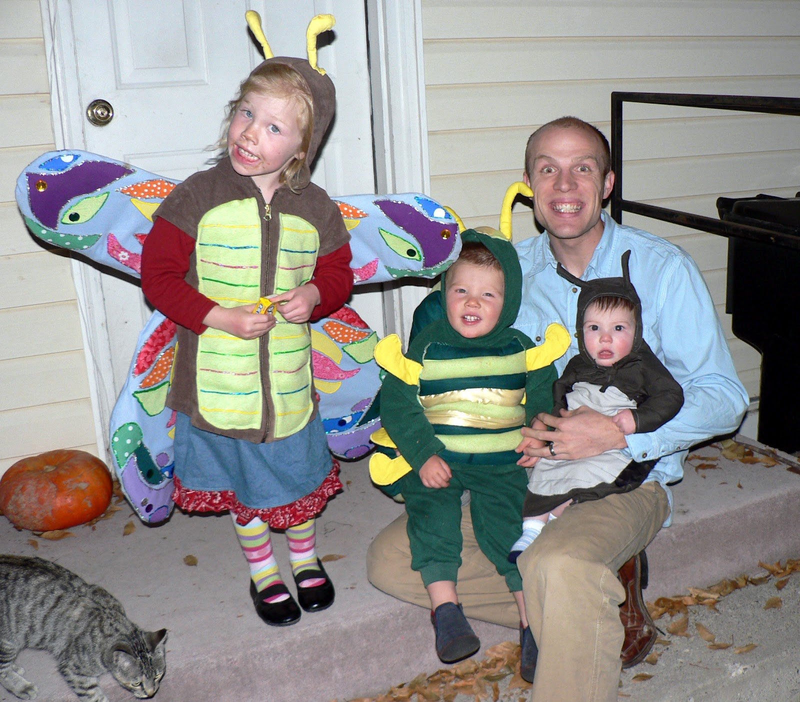 homemade halloween costumes for kids and families - bless this mess
