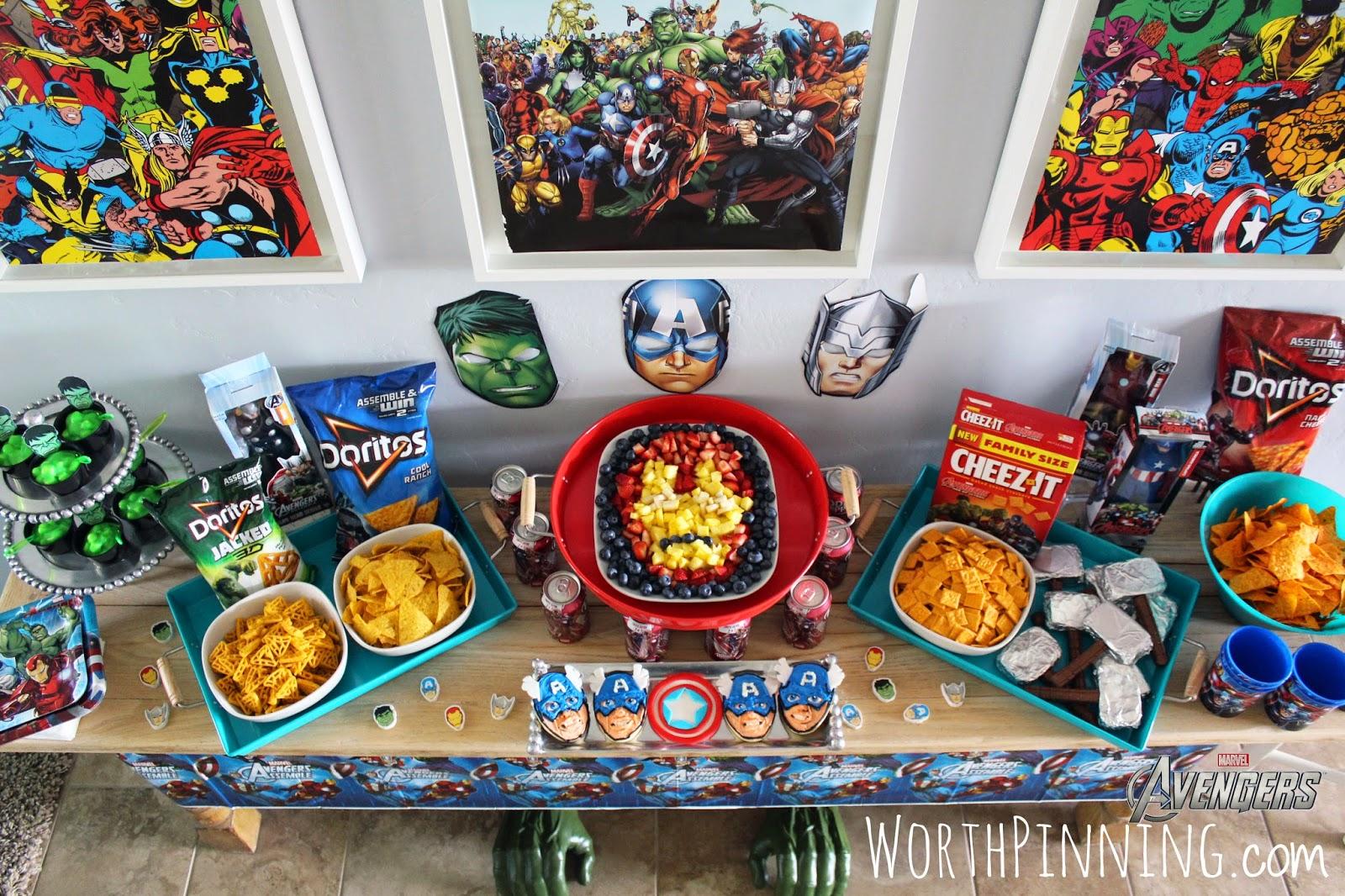 Captain America Bday Cake Design