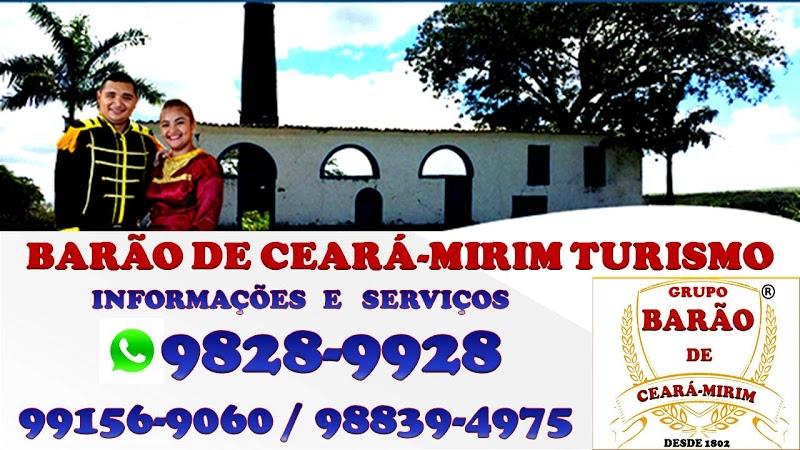 BARÃO DE CEARÁ-MIRIM: BATE VOLTA, EXCURSÕES E PASSEIOS