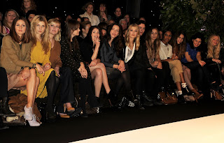 Mulberry AW11 Front Row Pics and After-Party at London Fashion Week