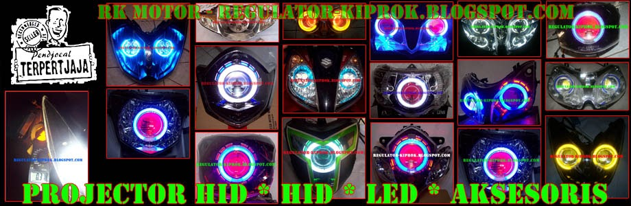 PROJECTOR HID AES | LAMPU LED CREE | LAMPU LUXEON |