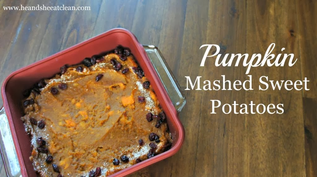 Pumpkin Mashed Sweet Potatoes