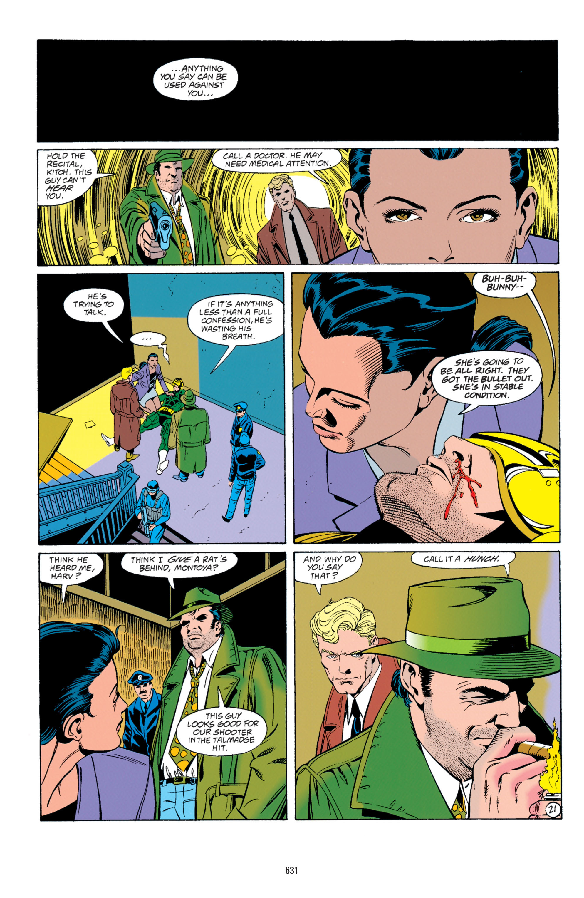 Detective Comics (1937) Issue #675 Page 21