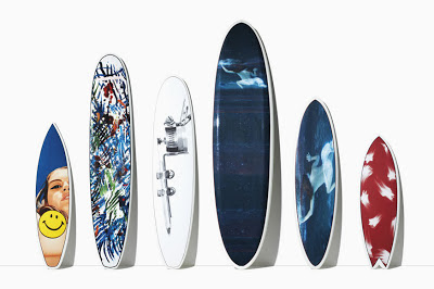 Tommy Hilfiger Surf Shack arrives in Chicago with limited-edition artist designed surfboards.