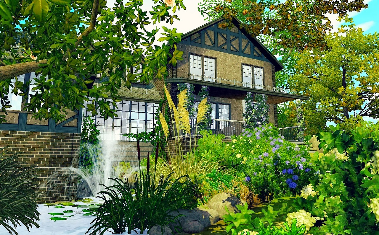 My sims 3 blog french country home by minasavenue for French country house blog