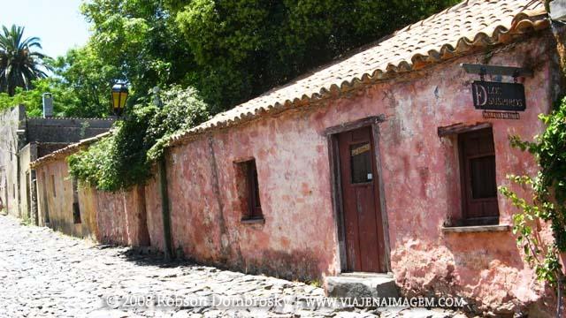 viagem de moto - colonia del sacramento no uruguai