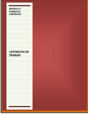 Legislaci n laboral peruana modelos y formatos contratos for Formato de contrato de trabajo indefinido