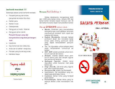 Contoh Karya Tulis Ilmiah Tentang Bahaya Merokok Terlengkap | Download ...