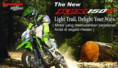 Brosur Harga Kredit Kawasaki KLX 150 Terbaru 2015
