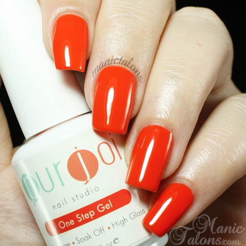 Purjoi One Step Orange You Fine Swatch