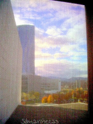 Guggenheim, la torre Iberdrola, biblioteca Deusto y paraninfo de UPV/EHU