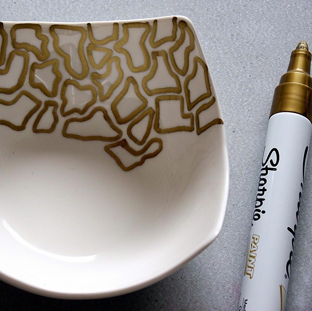 Animal Print sobre Ceramica, Decoracion Paso a Paso