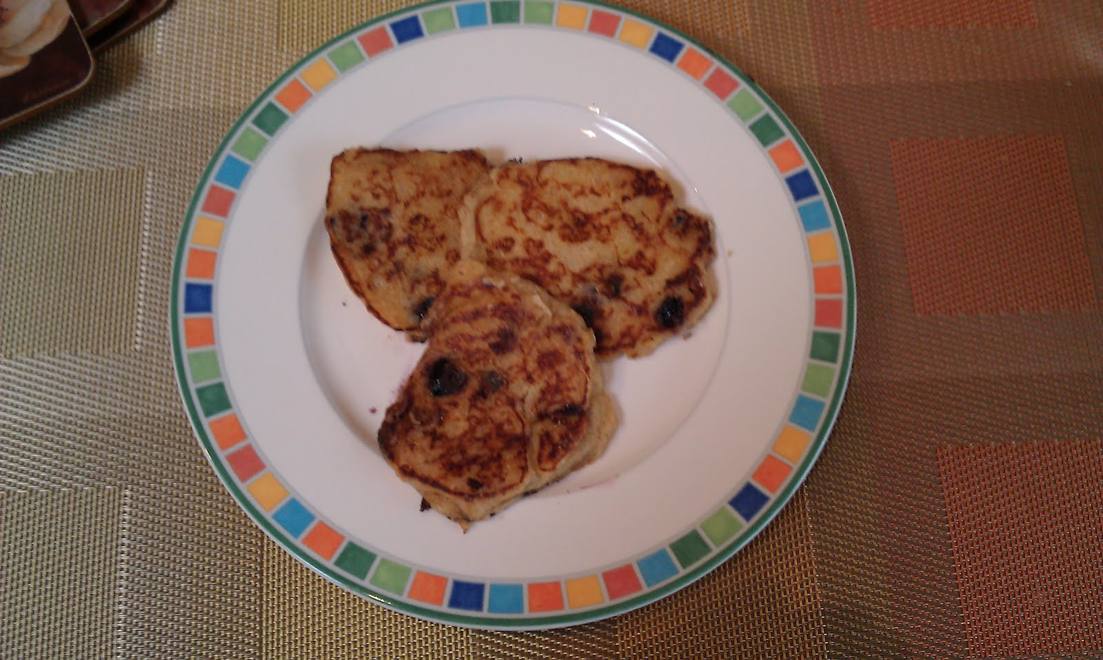 Mommy and Baby food: Blueberry Banana Multigrain Pancakes for the ...
