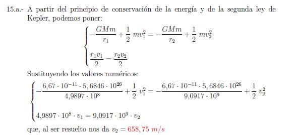 Examenes de selectividad campo gravitatorio problema resuelto 15a