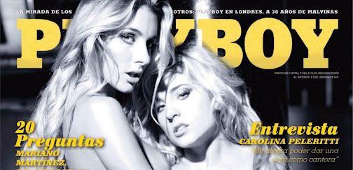 Paula Avila y Yamila Pinero Revista Playboy Argentina Abril 2012