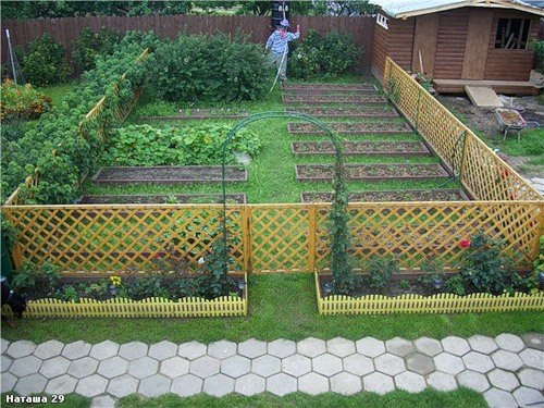 Забор для сада и огорода