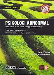 toko buku rahma: buku PSIKOLOGI ABNORMAL, pengarang richard p. halgin, penerbit salemba empat