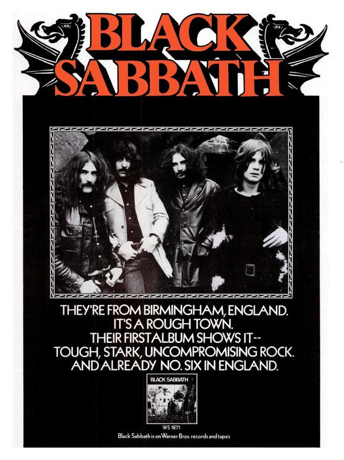 Black Sabbath Poster 1970