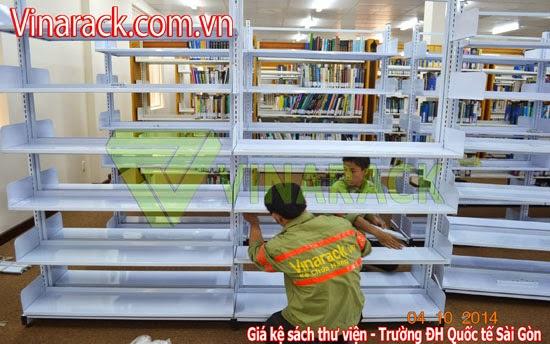 Kệ sách thư viện, kệ sách Vinarack