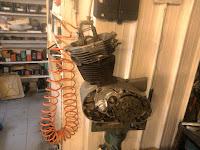 NSU Sportmax motore engine
