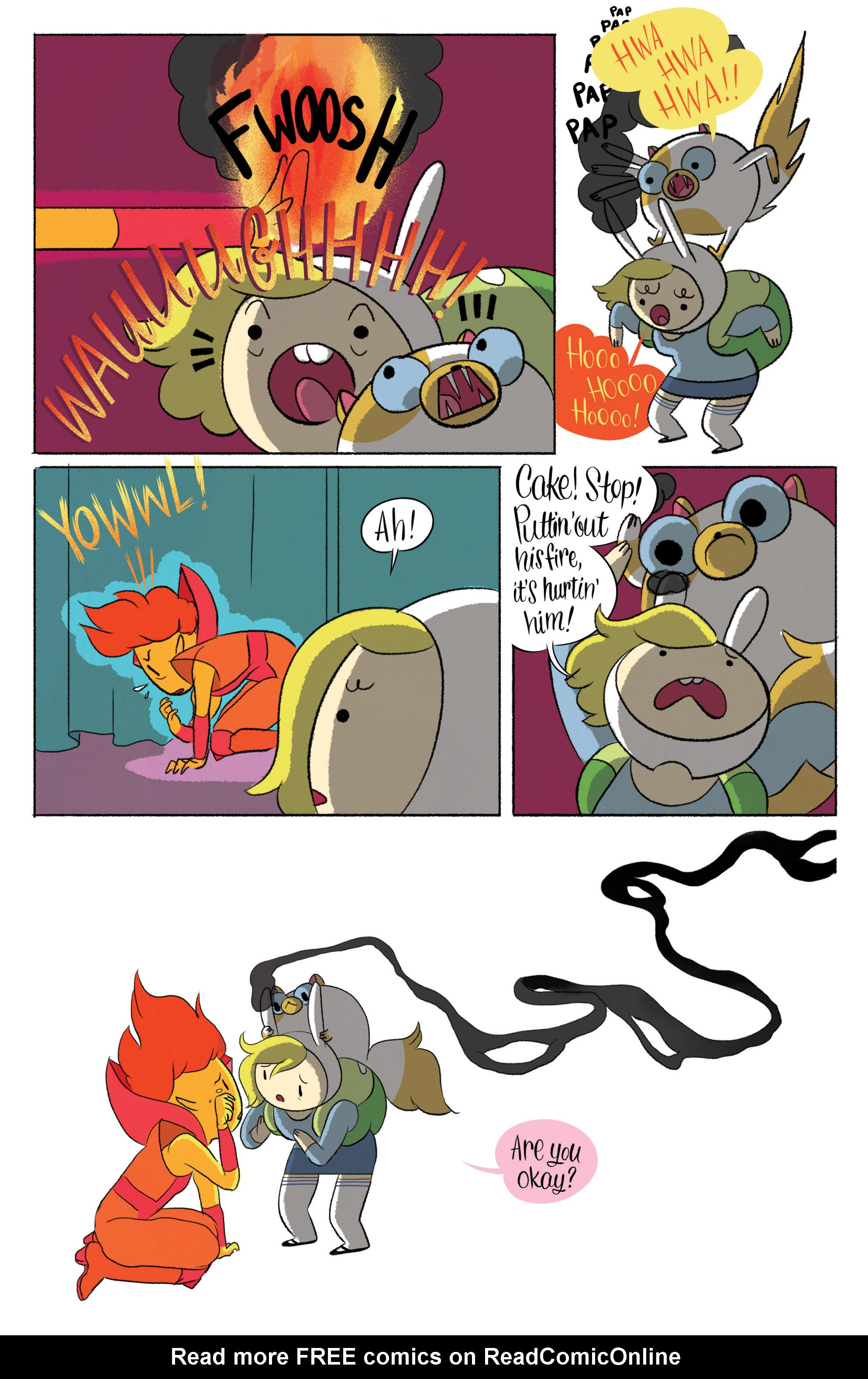 Read online Adventure Time with Fionna & Cake comic -  Issue #5 - 11
