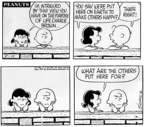 Charlie Brown y el propósito de la vida