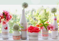 Vasinhos de Flores Reciclados