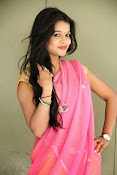 Bhavya Sri Photos in Pink Halfsaree-thumbnail-18