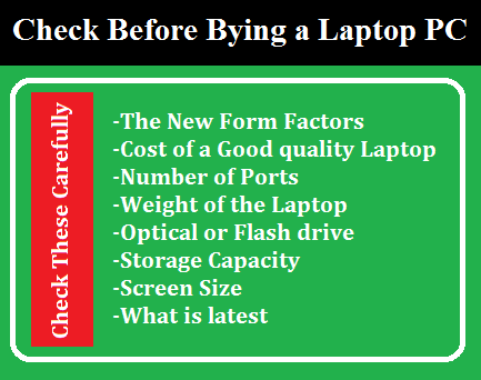 Laptop Buying Guide- Check These Tips before Laptop Buying