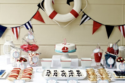 c mo decorar una fiesta al estilo naval nautico marina