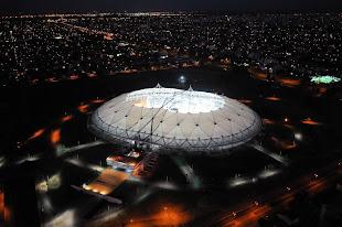 Cristina inauguró el estadio más moderno de Latinoamérica