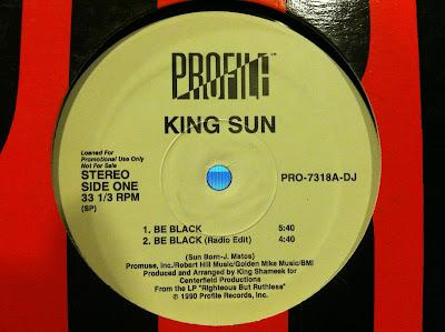 King Sun – Be Black (1990) (320 kbps) (VLS)