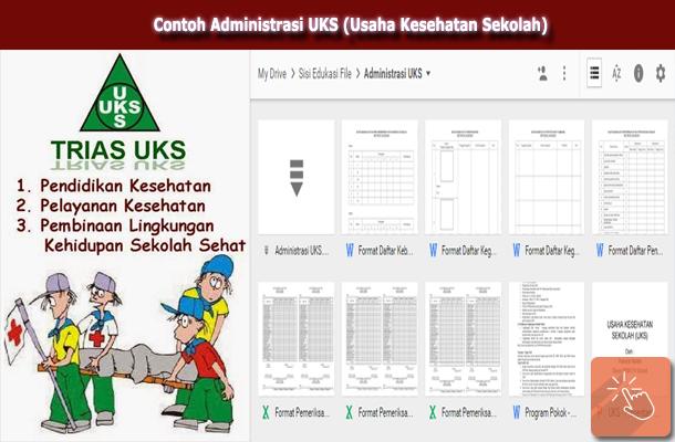 Download Contoh Administrasi UKS (Usaha Kesehatan Sekolah)