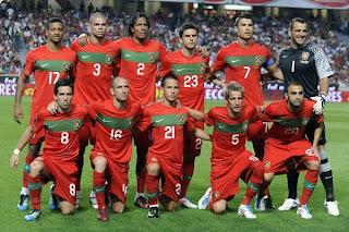 Convocados de Portugal para las Eliminatorias a la Eurocopa 2012